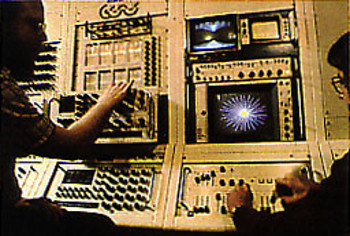 Cathodemer Video Synthesizer and CRT Simulator